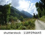 stony road in the mountains | Shutterstock . vector #1189396645