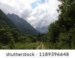 stony road in the mountains | Shutterstock . vector #1189396648