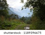 stony road in the mountains | Shutterstock . vector #1189396675