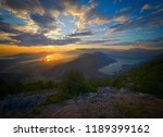 panoramic view on kotor bay ... | Shutterstock . vector #1189399162