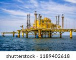 the petroleum loading station... | Shutterstock . vector #1189402618