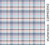 plaid pattern vector eps | Shutterstock .eps vector #1189403542