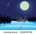 illustration to moon night and... | Shutterstock .eps vector #118942996