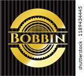 bobbin gold shiny emblem | Shutterstock .eps vector #1189434445