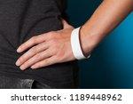 Paper event white bracelet...