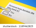 personal loan service   do you... | Shutterstock . vector #1189462825