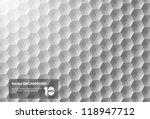 vector abstract polygon...
