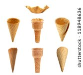 Ice Cream Cones Collection Wit...
