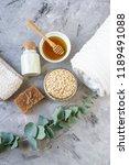 natural ingredients homemade... | Shutterstock . vector #1189491088