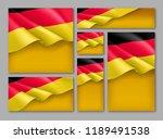germany republic patriotic... | Shutterstock .eps vector #1189491538