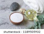 natural ingredients homemade... | Shutterstock . vector #1189505932