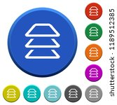 multiple layers round color...   Shutterstock .eps vector #1189512385