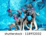 happy children kids group  at... | Shutterstock . vector #118952032