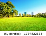 beautiful garden in daytime... | Shutterstock . vector #1189522885