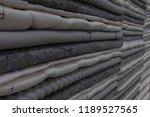 mattress fabric  textures ...   Shutterstock . vector #1189527565