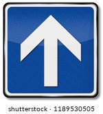 arrow and direction indication... | Shutterstock . vector #1189530505