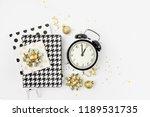 christmas winter decorations ... | Shutterstock . vector #1189531735