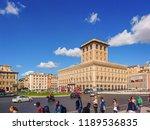sep 26 2017 the view of civita... | Shutterstock . vector #1189536835