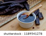Carob Molasses And Carob Pods...