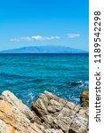 panoramic view of aegean sea at ...   Shutterstock . vector #1189542298