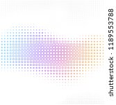 vector abstract background with ... | Shutterstock .eps vector #1189553788