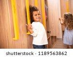 smiling multicultural kids... | Shutterstock . vector #1189563862