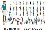 isometric 3d flat design vector ... | Shutterstock .eps vector #1189572328
