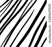 hand drawn black grunge... | Shutterstock .eps vector #1189629505