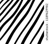 hand drawn black grunge... | Shutterstock .eps vector #1189629982