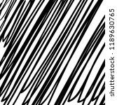 hand drawn black grunge... | Shutterstock .eps vector #1189630765