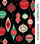 seamless vector pattern with... | Shutterstock .eps vector #1189641592