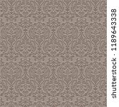 classic damask pattern....   Shutterstock .eps vector #1189643338