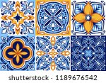 Italian Ceramic Tile Pattern....