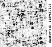 black white seamless grunge... | Shutterstock . vector #1189687528