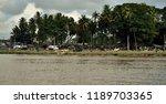 abidjan city from the lagoon ... | Shutterstock . vector #1189703365