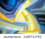 abstract texture. oil  acrylic... | Shutterstock . vector #1189711792