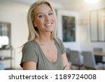 portrait of beautiful middle... | Shutterstock . vector #1189724008