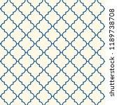 oriental traditional pattern.... | Shutterstock .eps vector #1189738708