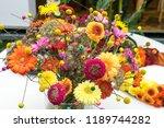 autumn outdoor floral...   Shutterstock . vector #1189744282