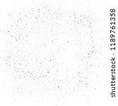 grunge urban noise texture... | Shutterstock .eps vector #1189761358