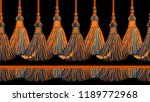 vector seamless border pattern... | Shutterstock .eps vector #1189772968