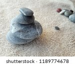 abstract smooth round pebbles... | Shutterstock . vector #1189774678