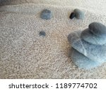 abstract smooth round pebbles... | Shutterstock . vector #1189774702