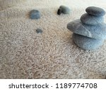 abstract smooth round pebbles... | Shutterstock . vector #1189774708