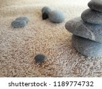 abstract smooth round pebbles... | Shutterstock . vector #1189774732