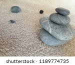 abstract smooth round pebbles... | Shutterstock . vector #1189774735