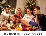 holidays and celebration... | Shutterstock . vector #1189777165