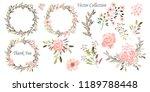 vector illustration. wreaths. ... | Shutterstock . vector #1189788448
