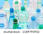 plastic bottle recycling... | Shutterstock . vector #1189793932