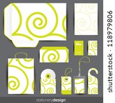 stationery design set in... | Shutterstock .eps vector #118979806